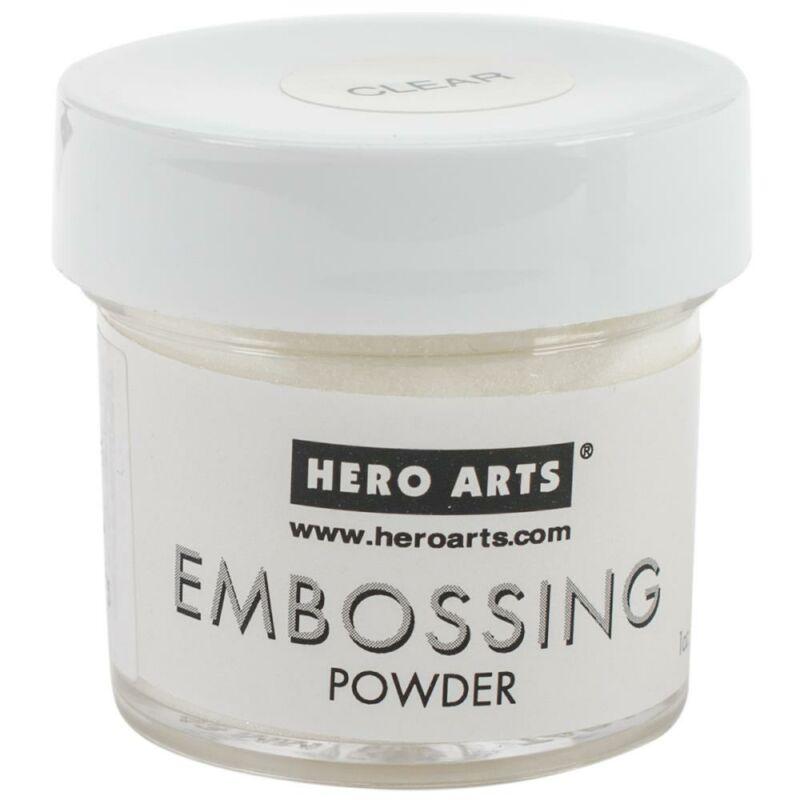Hero Arts Embossing Powder - átlátszó
