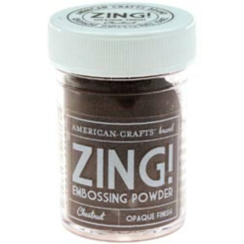 Zing! Opaque Embossing Powder - Chestnut