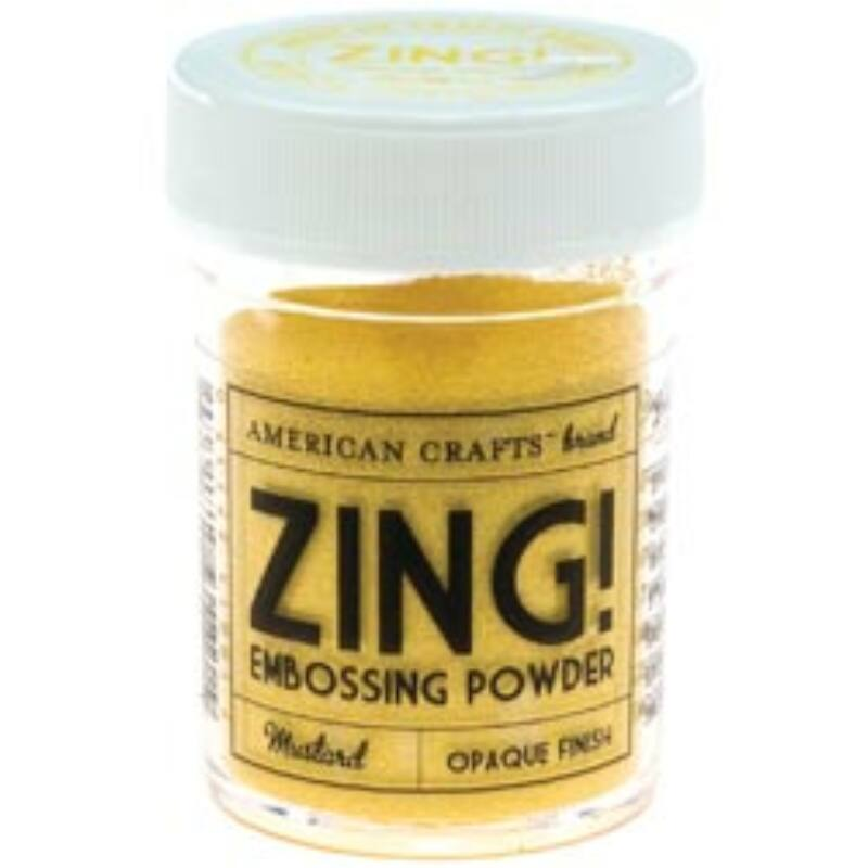 Zing! Opaque Embossing Powder - Mustard