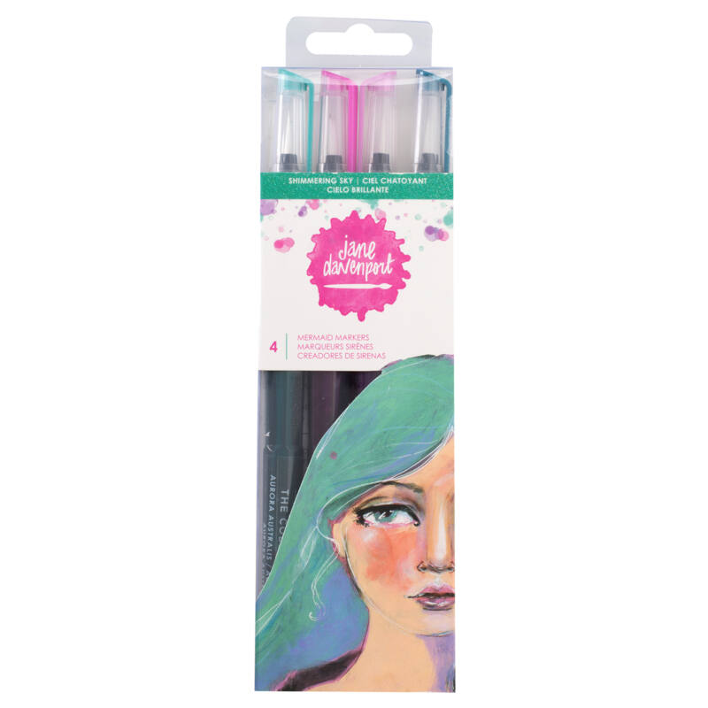 Jane Devanport Paint Over Pens