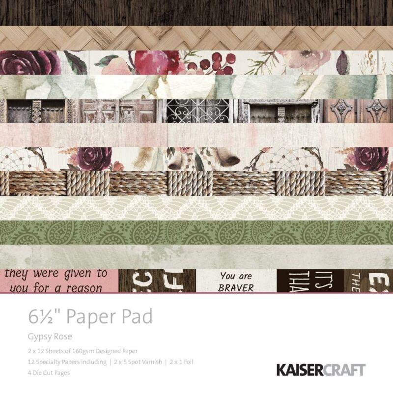 Kaisercraft Gypsy Rose - 6.5x6.5 Paper Pad