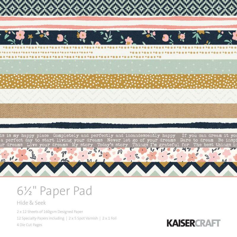 Kaisercraft Hide & Seek - 6.5x6.5 Paper Pad