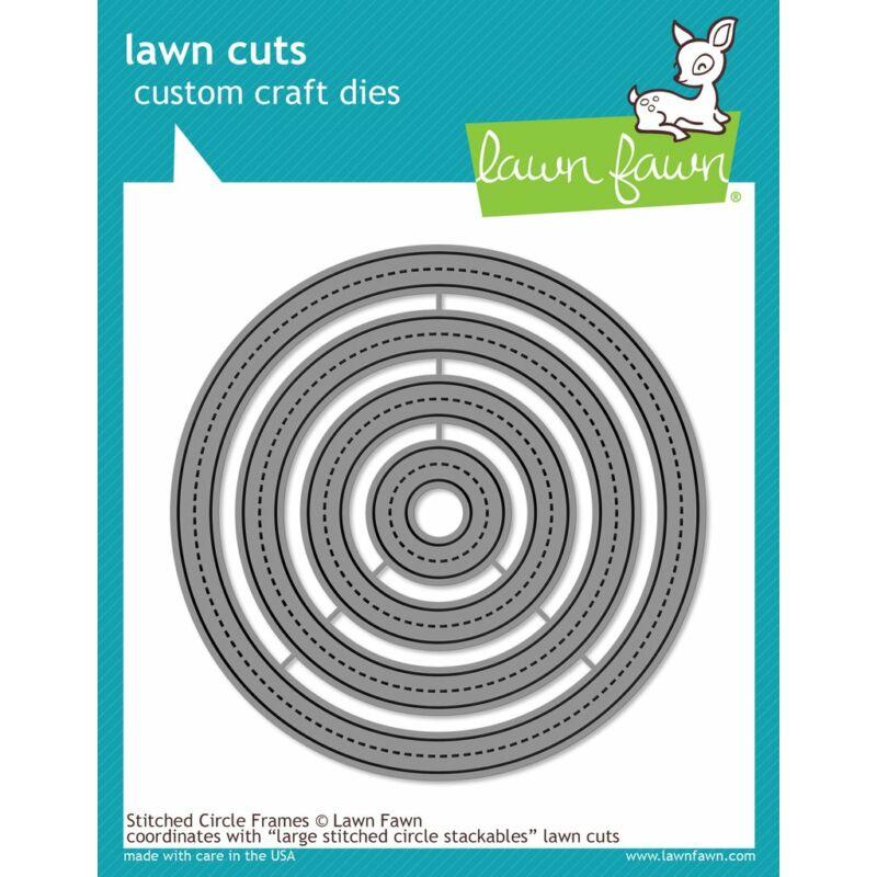 Lawn Cuts - Stitched Circle Frames