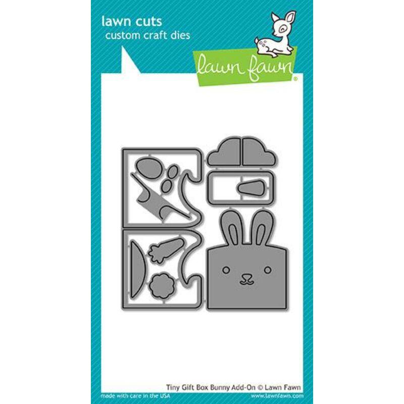 Lawn Cuts -  Tiny Gift Box Bunny Add-on