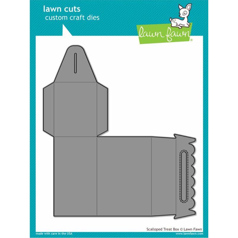 Lawn Cuts - Scalloped Treat Box