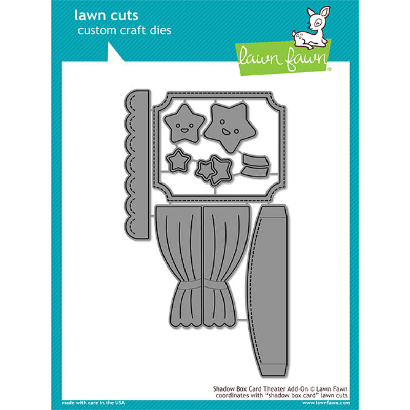 Lawn Fawn Die Set - Shadow Box Card Theater Add-On