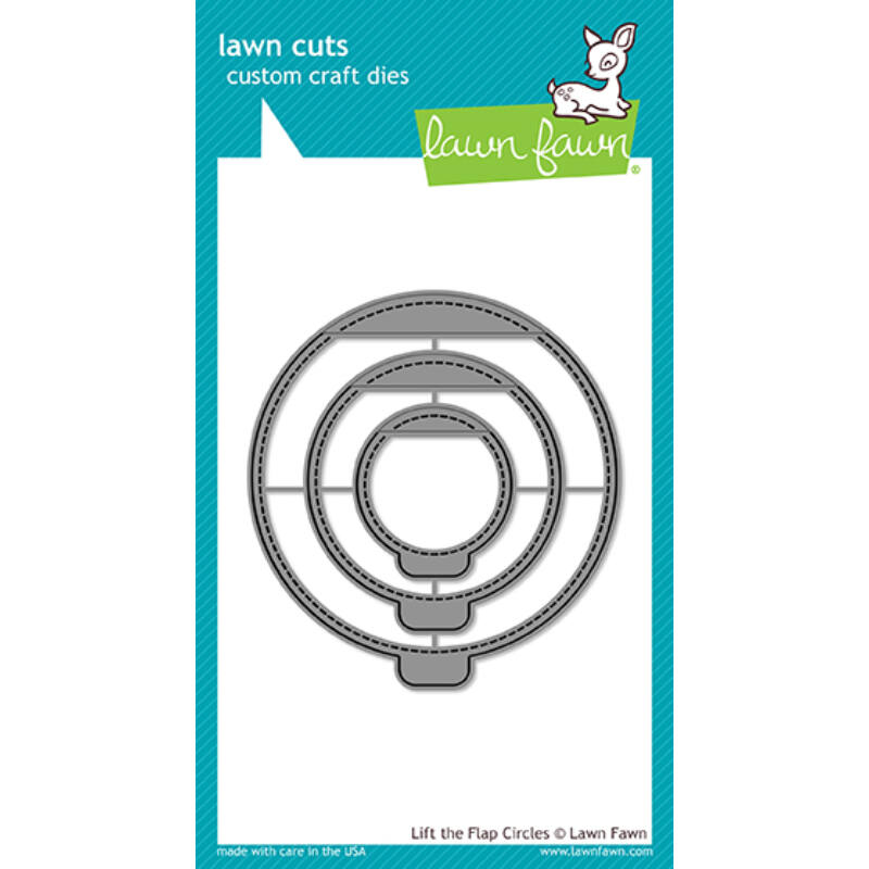 Lawn Fawn Die Set - Lift The Flap Circles