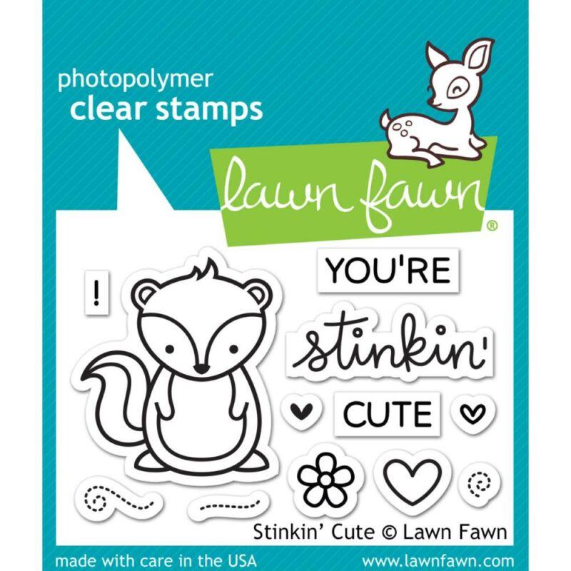 Lawn Fawn Clear Stamp - Stinkin' Cute
