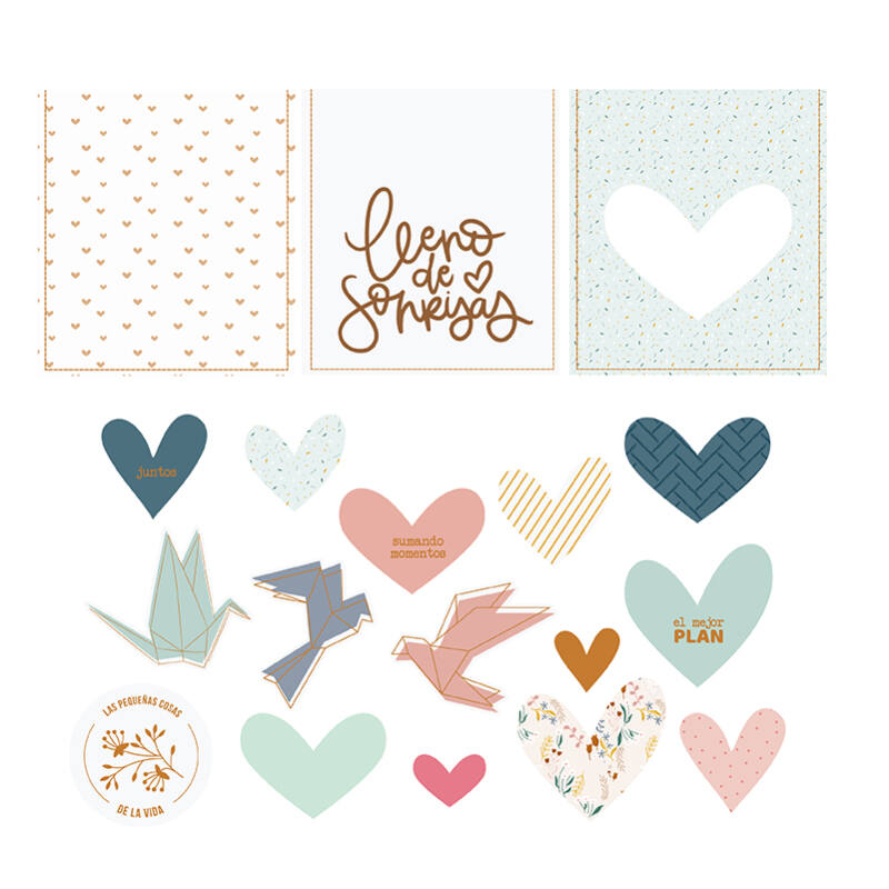 Lora Bailora - Abril Vellum Die Cuts (15 Pieces)