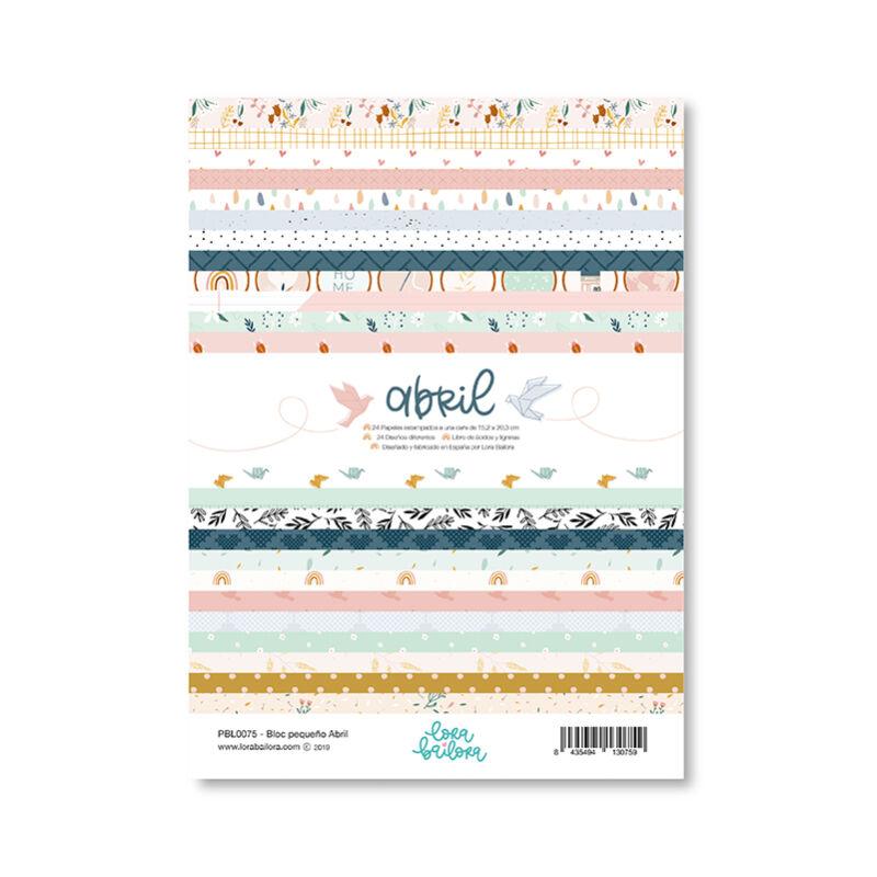 Lora Bailora - Abril 6x8 Paper Pad (24 Pieces)
