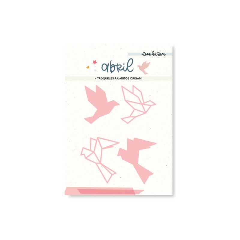 Lora Bailora - Abril vágókés - Origami Birds