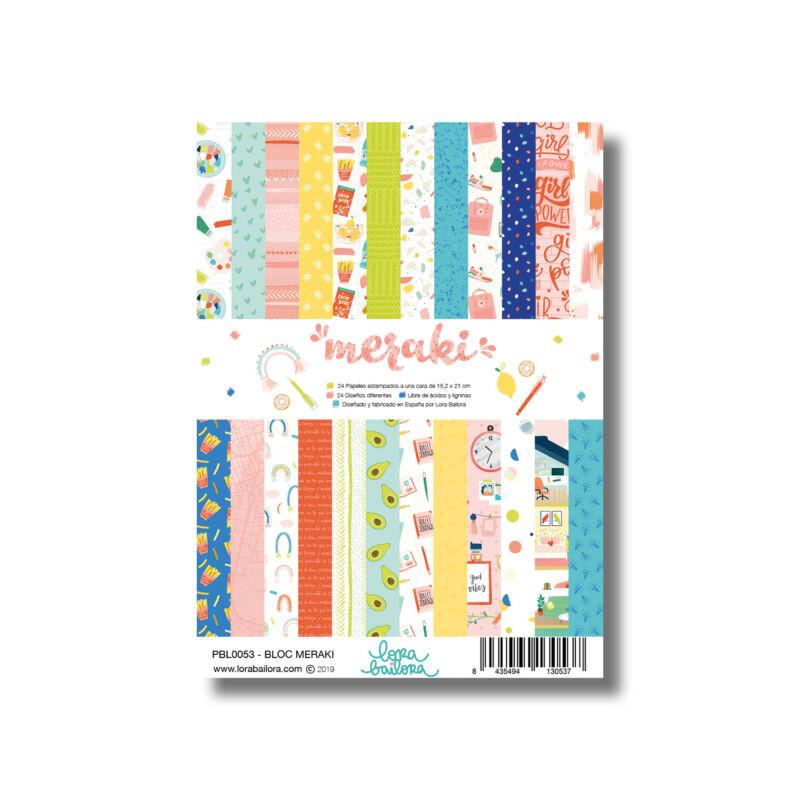 Lora Bailora - Meraki 6x8 Paper Pad (24 Sheets)