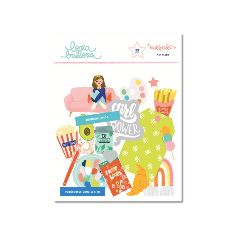 Lora Bailora - Meraki Die Cuts  (95 Pieces)
