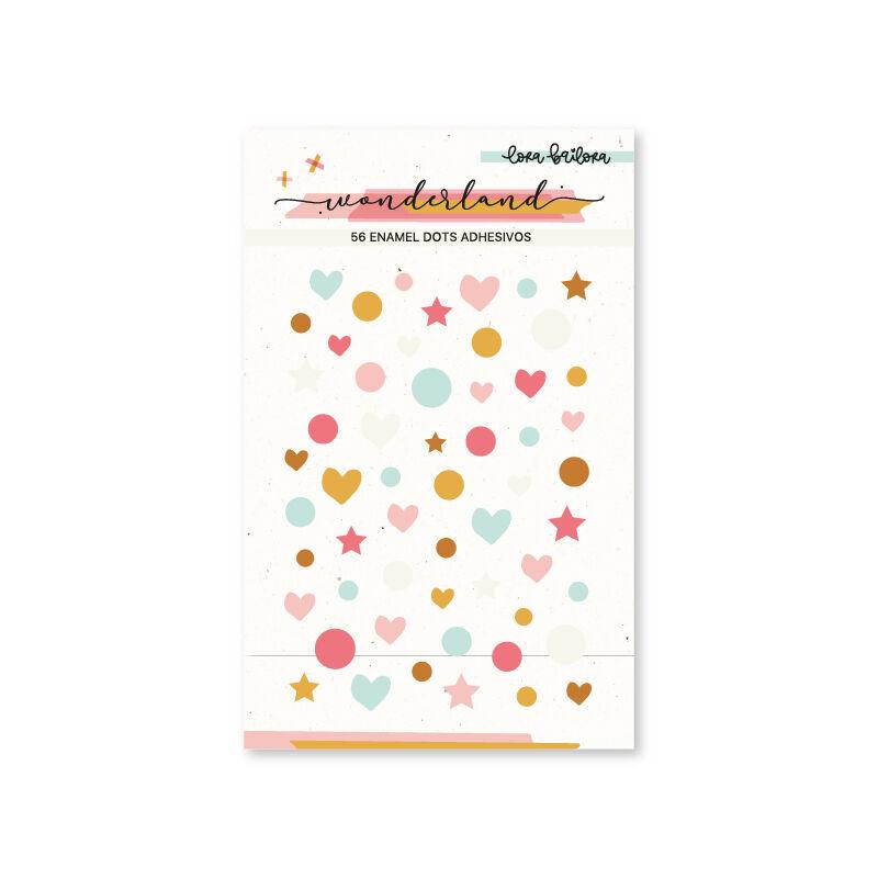Lora Bailora - Wonderland Enamel Dots (56 Pieces)