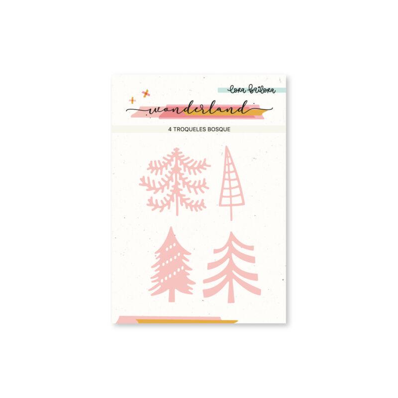 Lora Bailora - Wonderland Die - Pine Trees