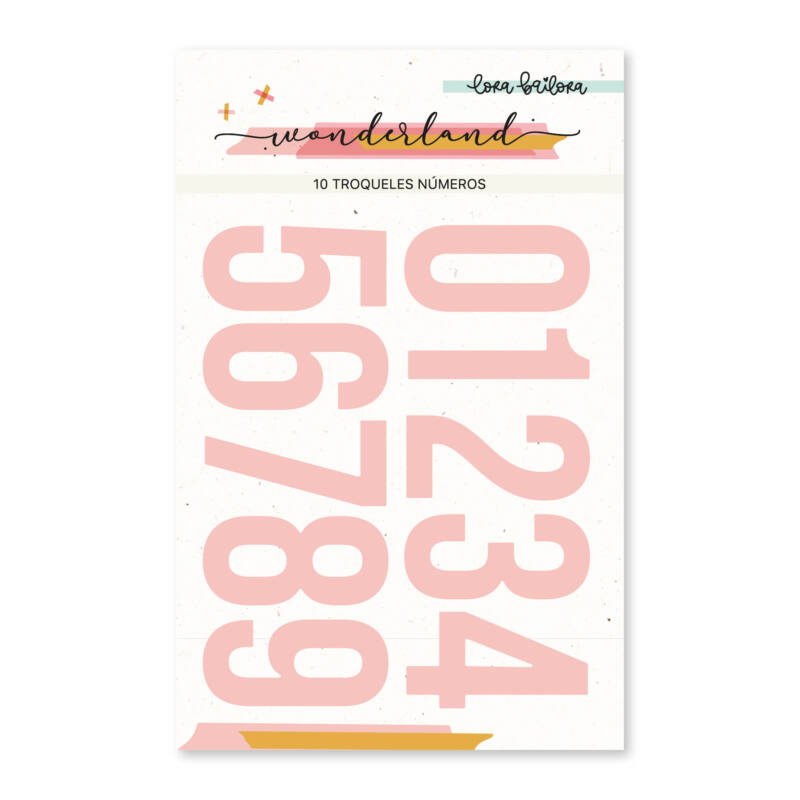 Lora Bailora - Wonderland Die - Numbers