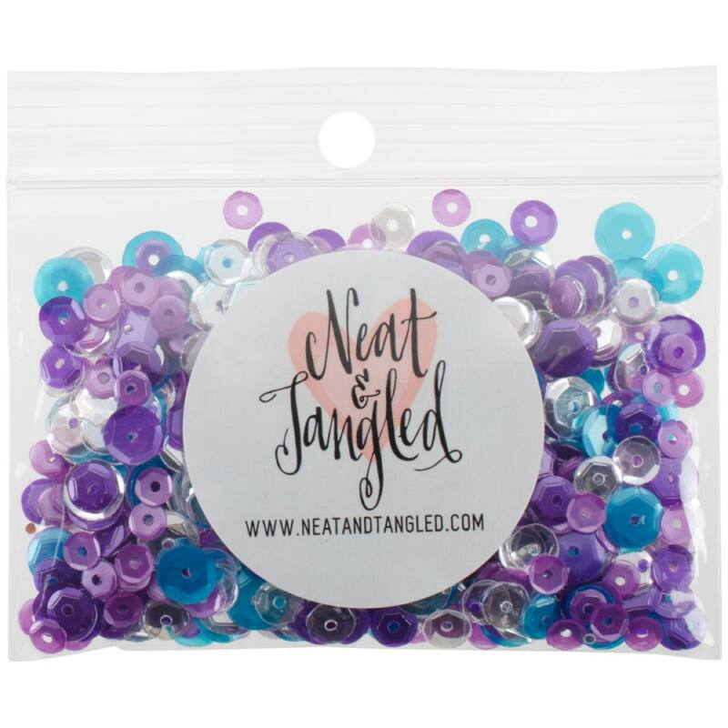 Neat & Tangled Sequin Mix - Mermaid Tail