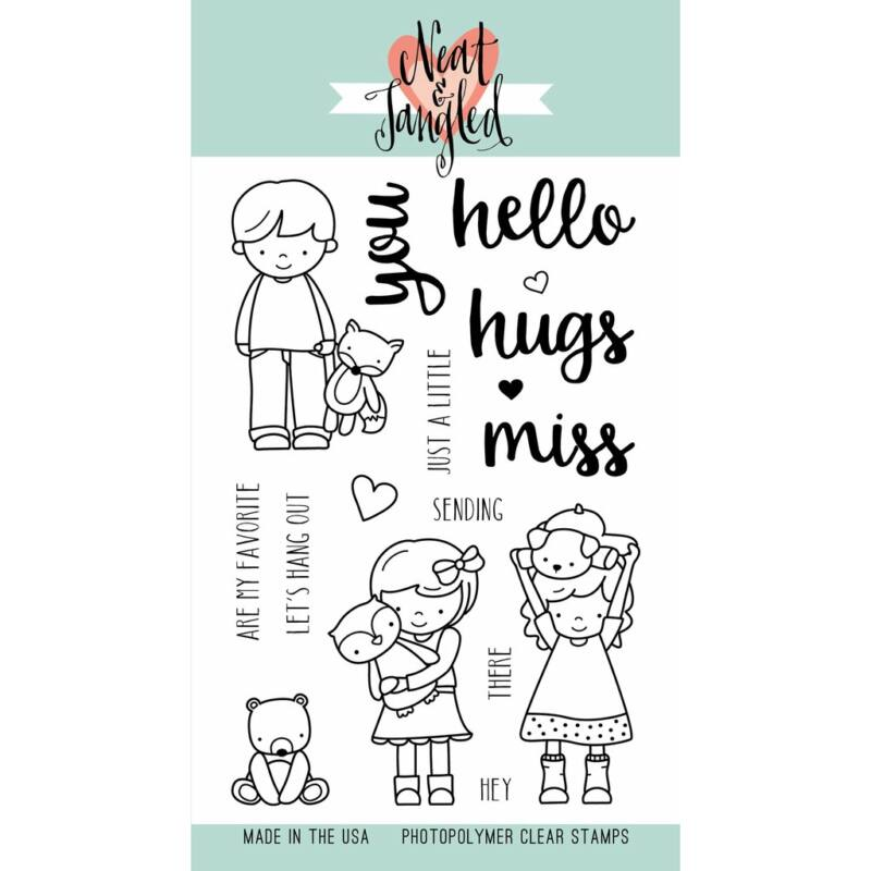 Neat & Tangled 4x6 Stamp Set - Better Together