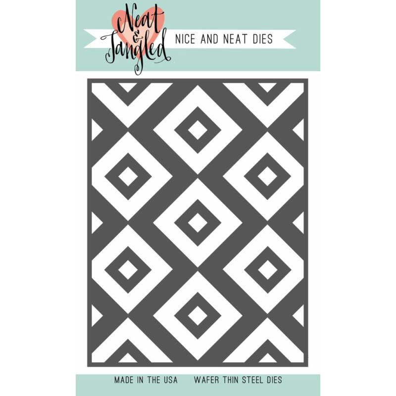 Neat and Tangled Cover Plate - Inlaid Squares Cover Plate