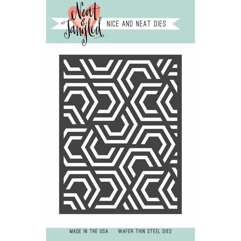 Neat & Tangled Die - Nesting Hexagons Cover Plate