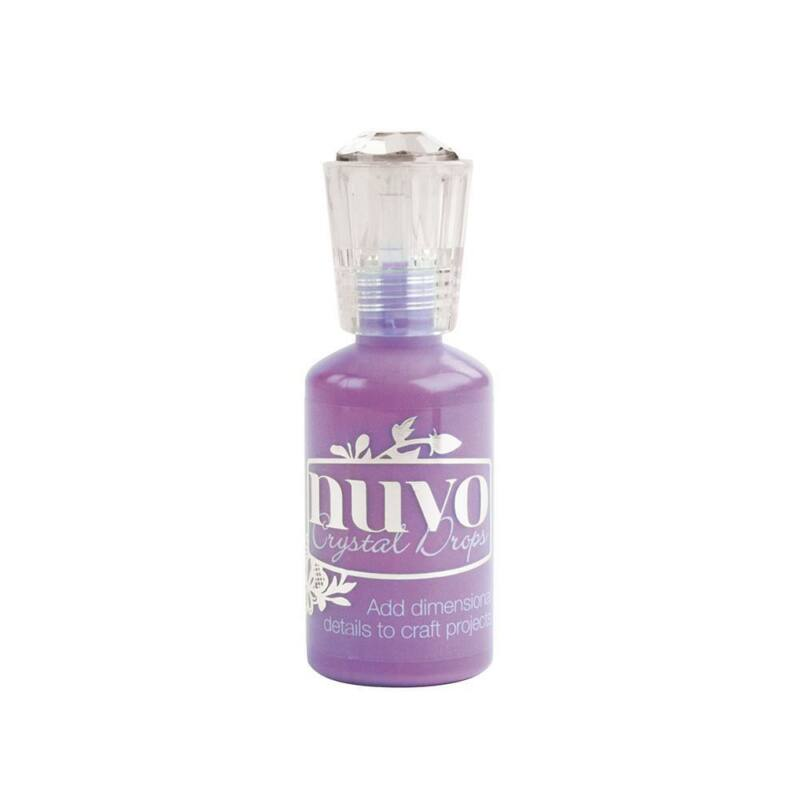 Nuvo Crystal Drops - Gloss-Crushed Grapes