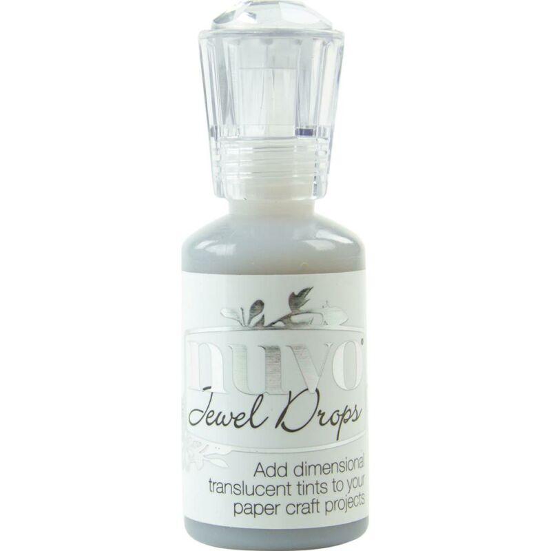 Nuvo Jewel Drops - Grey Mist