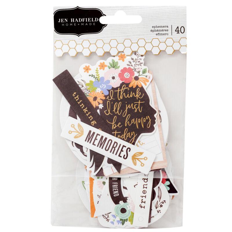 Pebbles - Jen Hadfield - Along The Way Phrase izrezki iz papirja (40 kosev)
