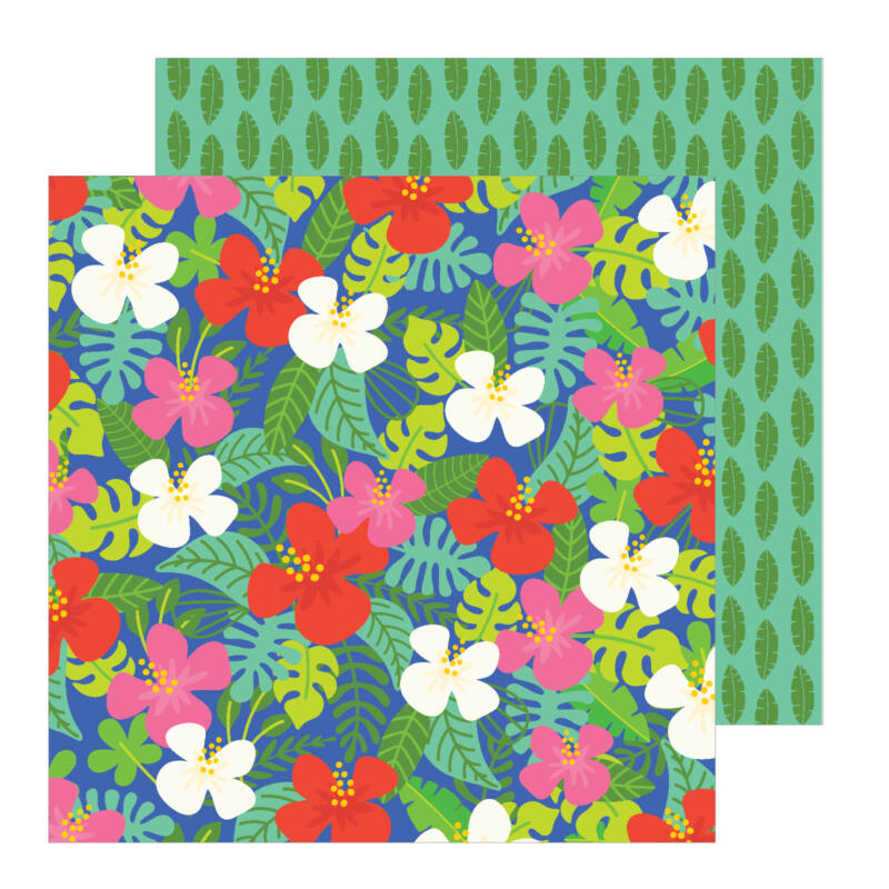 Pebbles - Chasing Adventures 12x12 Patterned Paper - Aloha