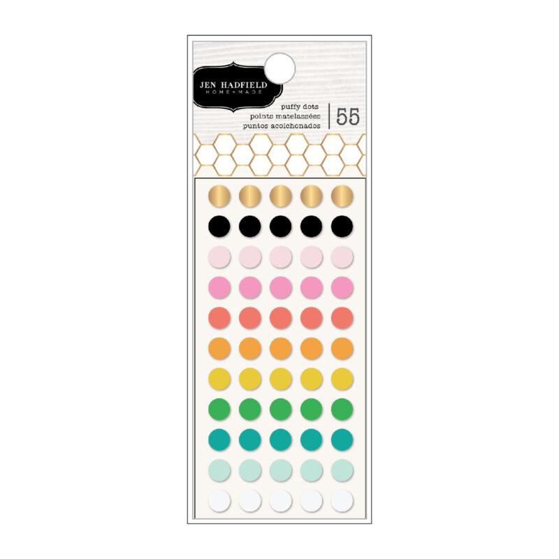Pebbles - Hey, Hello Puffy Dots (55 Piece)