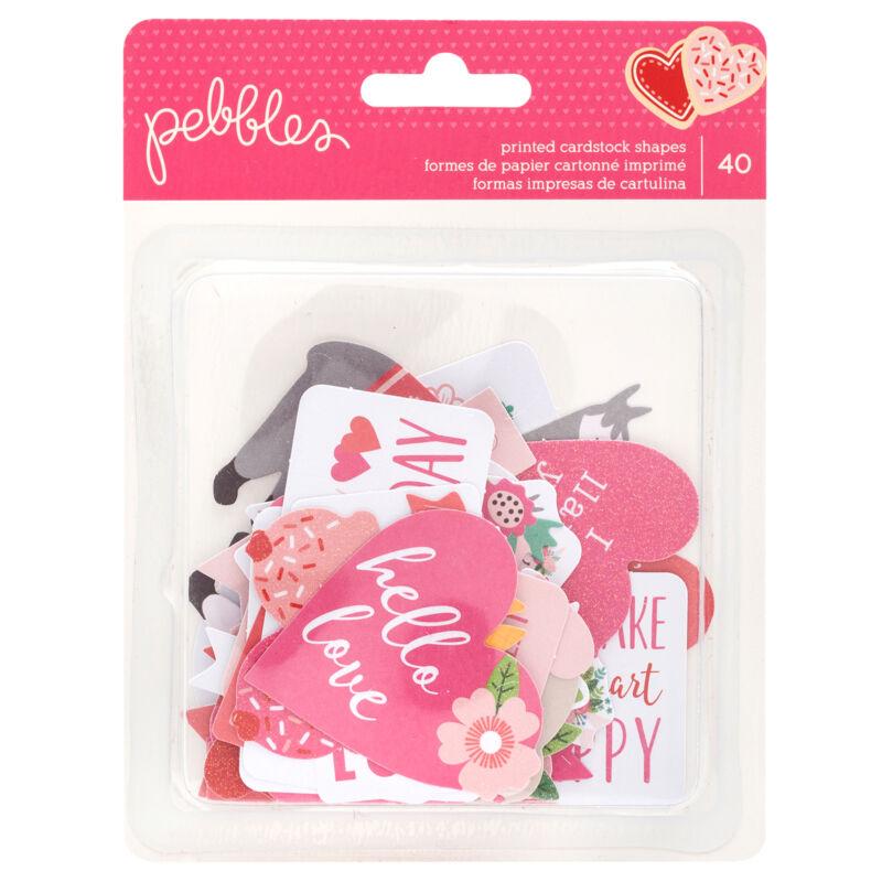 Pebbles - Loves Me Quote izrezki iz papirja (40 kosev)