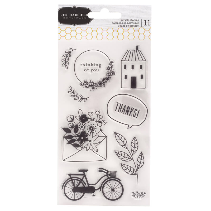 Pebbles - This is family Stamp Set (13 Piece)