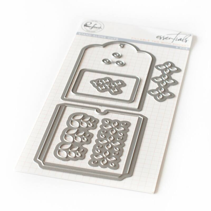 Pinkfresh Studio - Essentials: Fillable tag with pocket Die