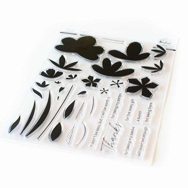 Pinkfresh Studio - Simple blossoms 6x8 Stamp