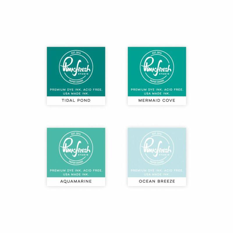 Pinkfresh Studio - Premium Dye tinta mini szett - Island Oasis
