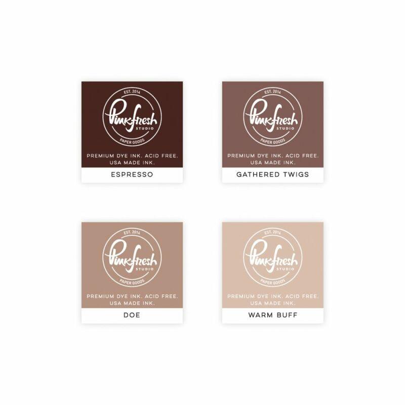 Pinkfresh Studio - Premium Dye tinta mini szett - Wild Truffles