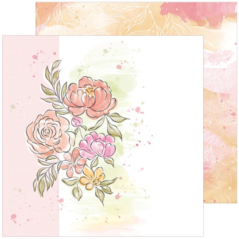 Pinkfres Studio + Altenew - Celebrate 12x12 Paper - This Story