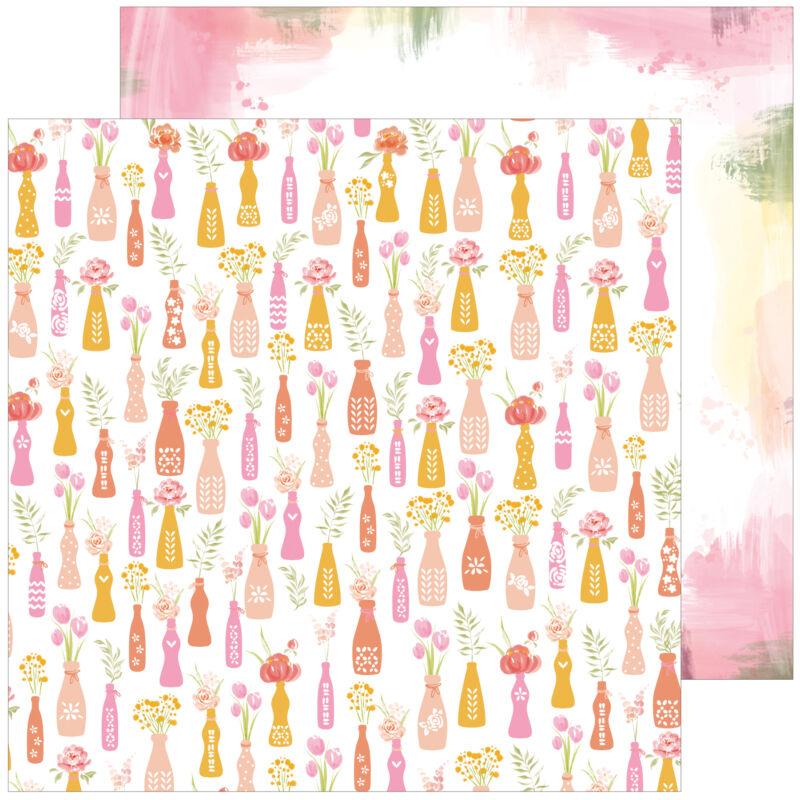 Pinkfres Studio + Altenew - Celebrate 12x12 Paper - Always
