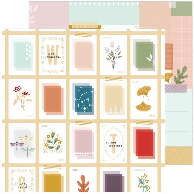 Pinkfresh Studio - Days of Splendor 12x12 Paper - Totally splendid