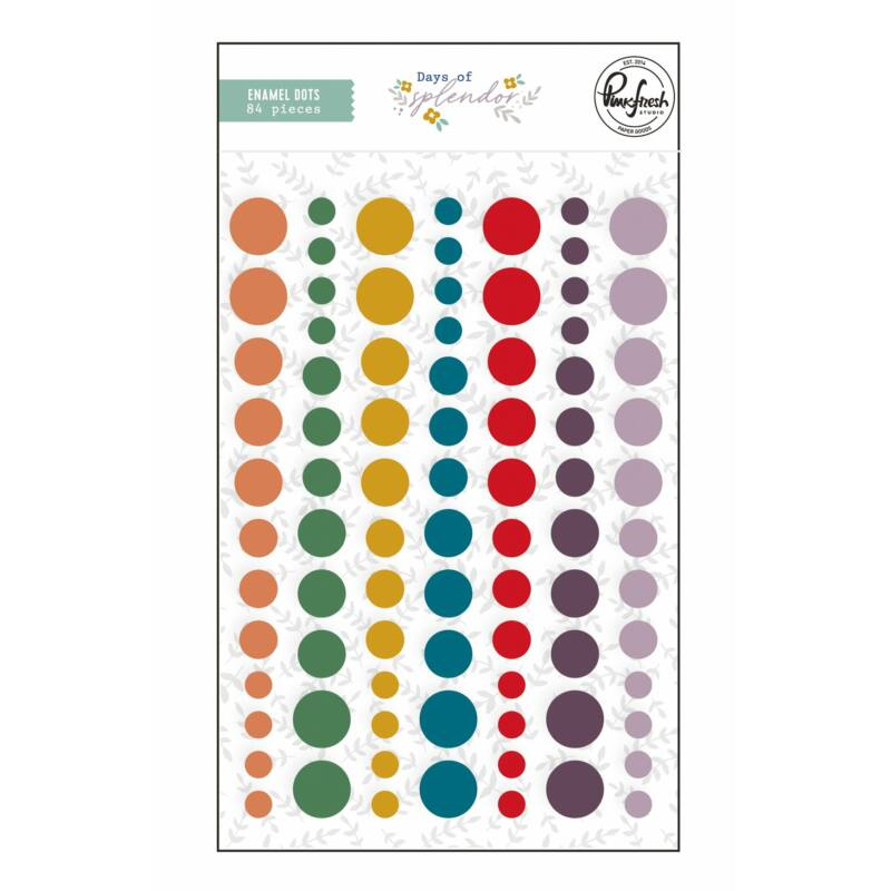 Pinkfresh Studio - Days of Splendor Enamel Dots