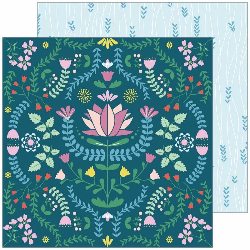 Pinkfresh Studio - Everyday Musings 12x12 Paper - Beautiful