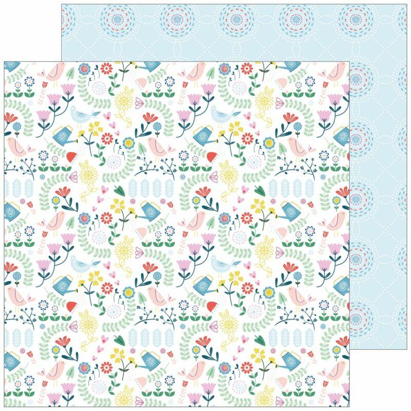 Pinkfresh Studio - Everyday Musings 12x12 Paper - Small Things