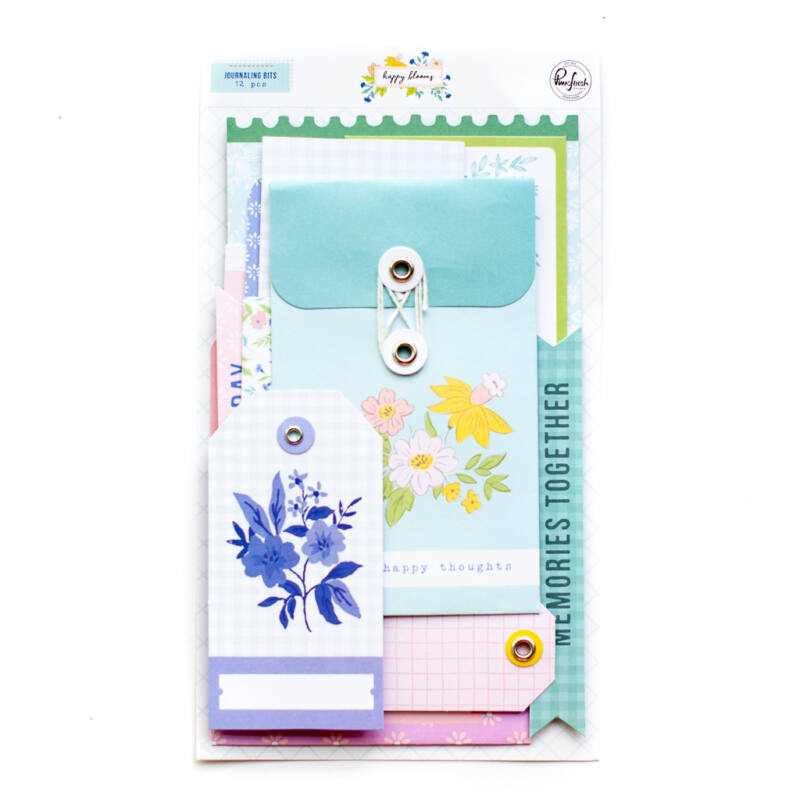 Pinkfresh Studio - Happy Blooms Journaling bits