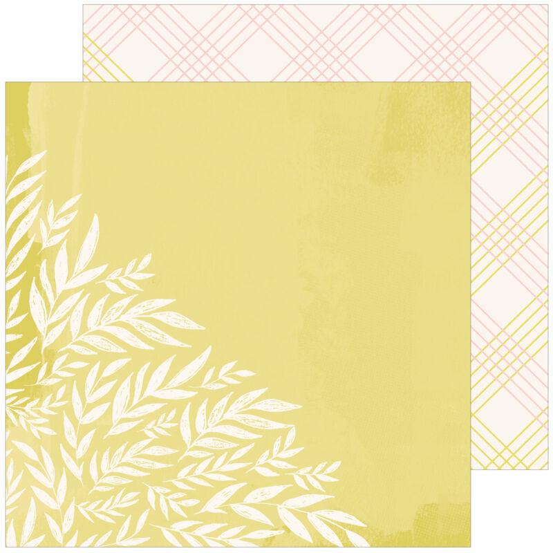Pinkfresh Studio - The Best Day 12x12 Paper - Hello Fall