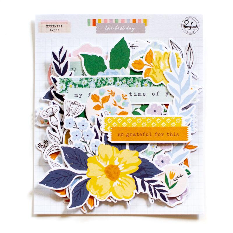Pinkfresh Studio - The Best Day Floral Ephemera