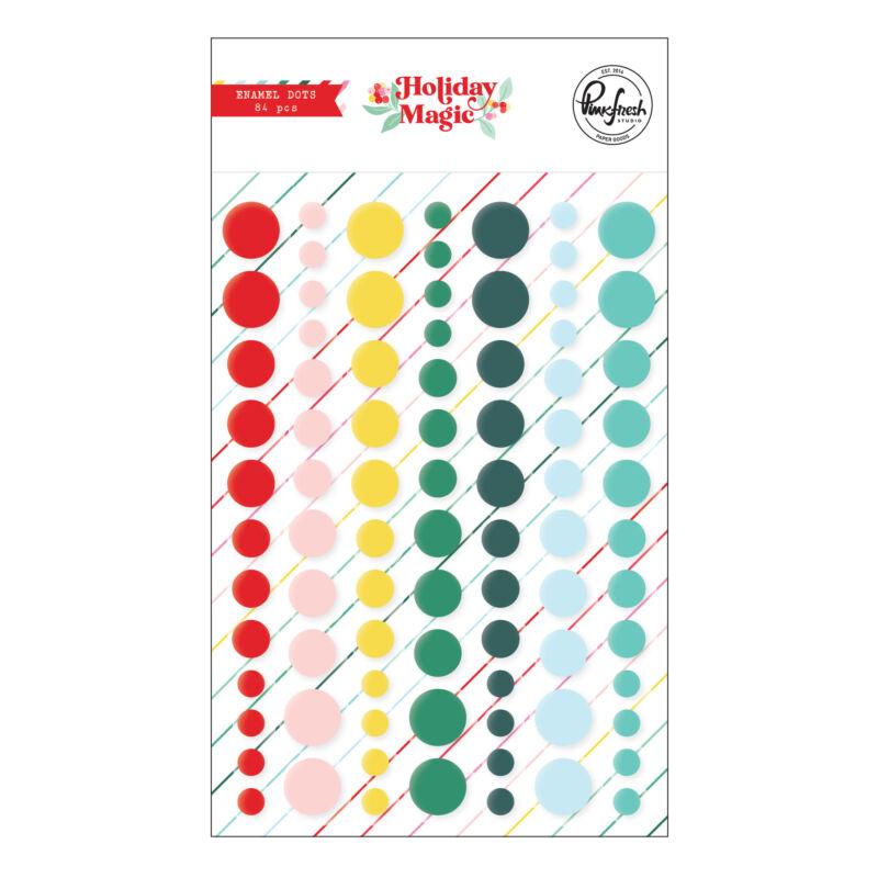 Pinkfresh Studio - Holiday Magic Enamel Dots