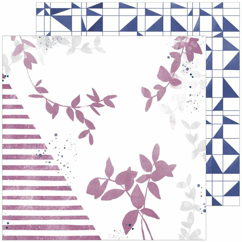 Pinkfresh Studio - Indigo Hills 2 12x12 scrapbook papír - Highland
