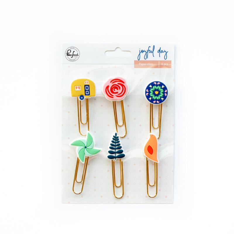 Pinkfresh Studio - Joyful Day Paper Clips