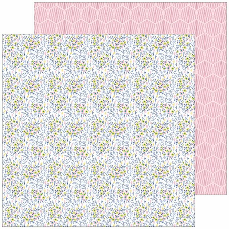 Pinkfresh Studio - Joyful Day 12x12 Paper - Being Us
