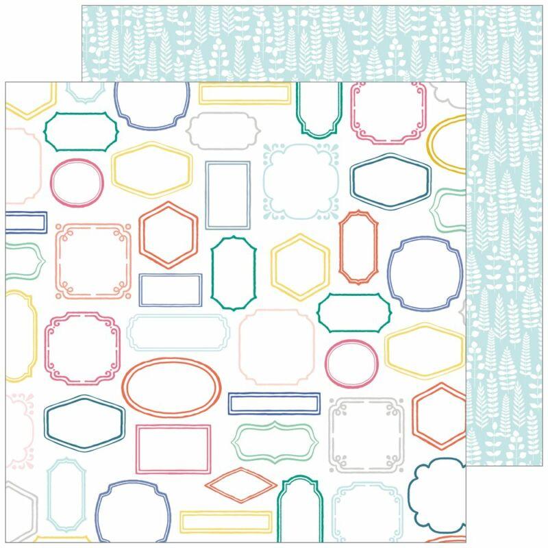 Pinkfresh Studio - Joyful Day 12x12 Paper - Perfect Moment
