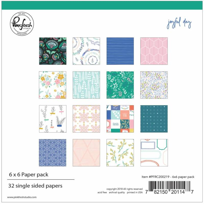 Pinkfresh Studio - Joyful Day 6x6 Paper Pack